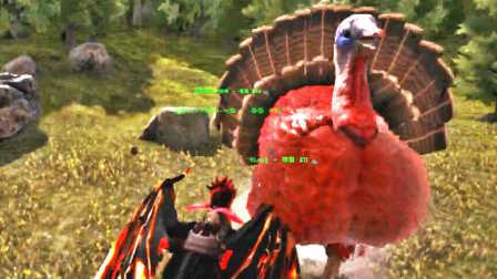 【峻晨解说】瓦哈拉起源53-万圣节巨型火鸡登场!不给糖就捣你蛋啦~方舟生存进化