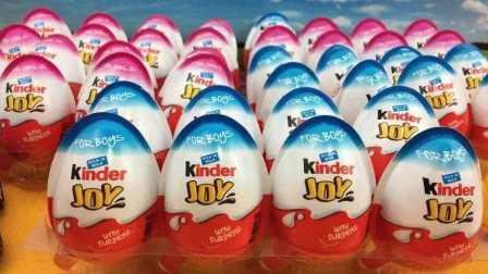 【奇趣蛋出奇蛋】拆健达奇趣蛋出奇蛋玩具视频