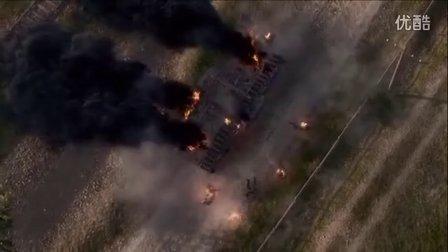 康布雷小镇的坦克大战!《战地1》最高难度流程解说05
