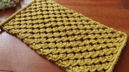 温暖你心毛线店 第一季 腊梅花的织法