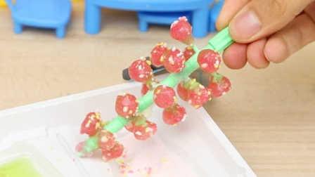 食玩 转转软糖葡萄树 手工制作 日本嘉娜宝食玩