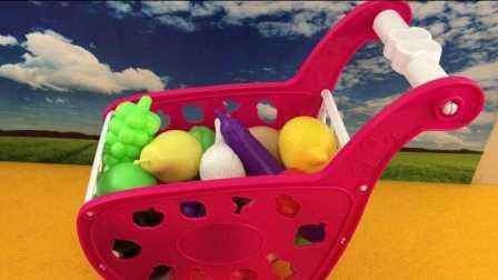 【小猪佩奇佩佩猪玩具】小猪佩奇猪爸爸组装过家家超市购物车玩具