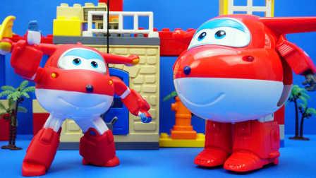 超级飞侠 遥控乐迪 酷飞与小爱 迪士尼 玩具 变形机器人#厉害了我的双11#