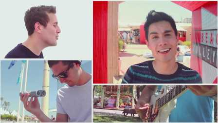 CAN'T STOP THE FEELING! - Sam Tsui & Casey Breves