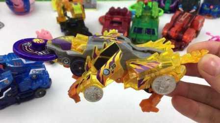 【机甲兽神爆裂飞车玩具】噬魂战虎机甲兽神爆裂飞车最强战车