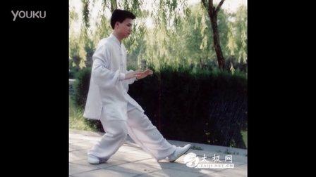 40式楊式太極拳李德印口令配套音樂陳思坦演示超清