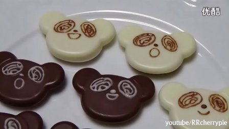 【Amy时尚世界】日本食玩-可食 小熊巧克力饼干