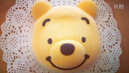 26. 小熊维尼 芒果慕斯蛋糕︱Mango mousse