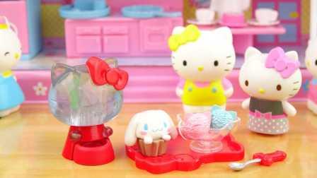 日本食玩之凯蒂猫咖啡馆第一弹 221