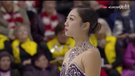 Mirai Nagasu. 2016 Skate Canada. SP