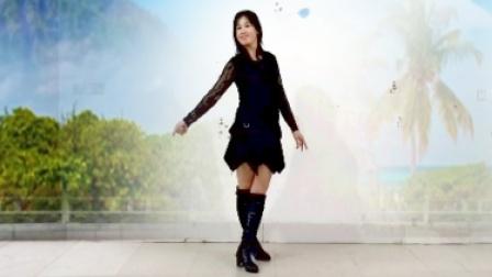 绿蕾丝广场舞健身舞77原创大笑江湖(正反演绎及口令分解)