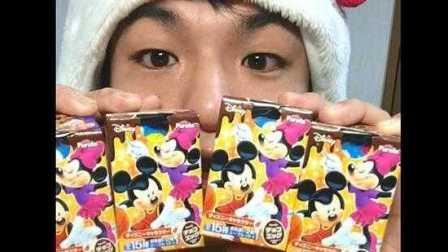 【公介小号】日本宅男心疼。。。打开了几个迪斯尼巧克力蛋的结果。。。ディズニーチョコエッグ