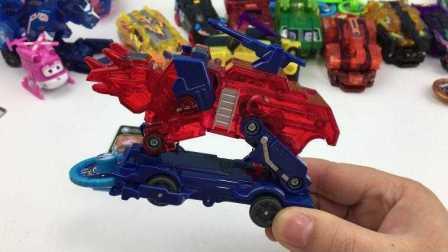 【机甲兽神爆裂飞车玩具】爆裂飞车翡翠石龙变形玩具机甲兽神