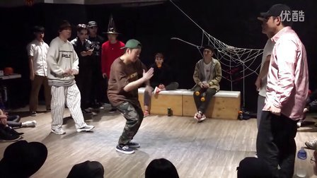 Hozin(裁判)&홍석빈 vs Rebel(裁判)&YZ @万圣节party