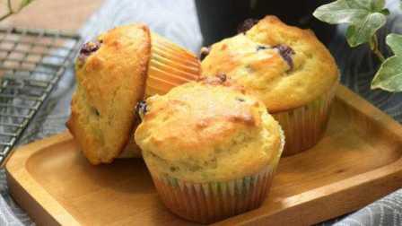 《糯米团子的厨房日记》 第十五期 蓝莓麦芬蛋糕