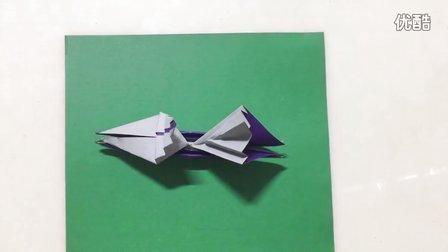 漂亮的立体帆船折纸图解教程
