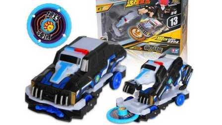 【机甲兽神爆裂飞车玩具】机甲兽神爆裂飞车钢爪战熊玩具拆箱