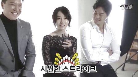 李贞贤为韩国电影杂志Cine21拍摄画报采访花絮.161101