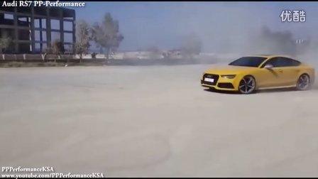 奥迪RS7vs宝马M6 感受加速度排气的声音