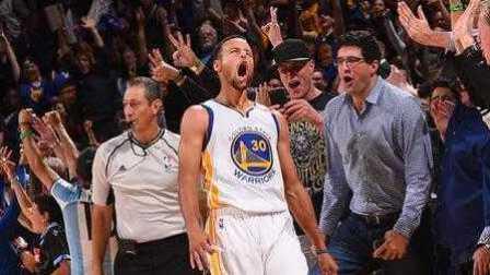 NBA2K17复刻库里单场13个三分!打破NBA三分球纪录!勇士vs鹈鹕