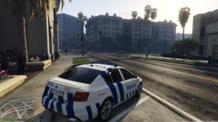 【gta5警察上班第六十八天】葡萄牙警车
