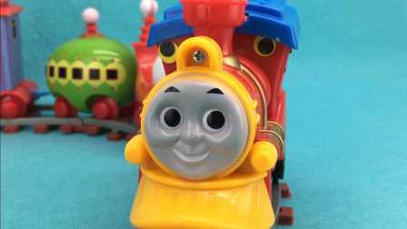 托马斯花园宝宝叮叮车轨道小火车玩具