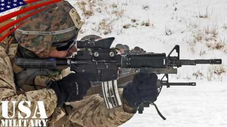 美国陆军士兵-实弹军事训练