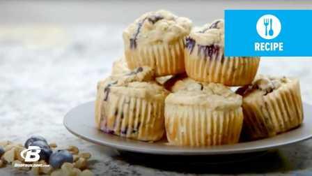 BB网食谱课堂丨制作蛋白蓝莓松饼
