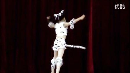 少儿舞蹈:独舞《波斯猫》_超清