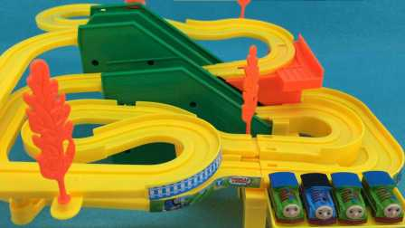 托马斯和他的朋友们轨道小火车玩具拆封试玩