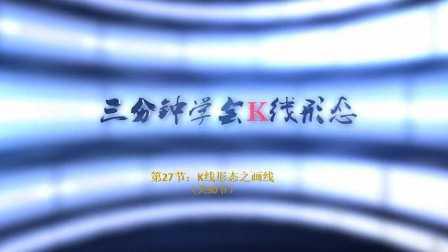 【李志尚】3分钟学会K线形态(共30节)第27节:K线形态之画线