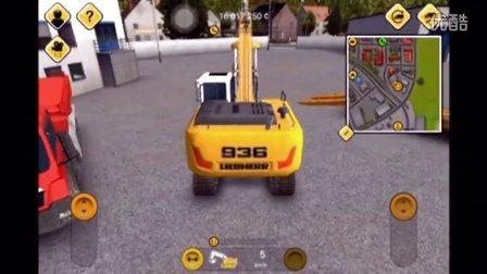 【cf手游阿浩AHAOLi】建造模拟2014再次回归 车辆不会开了 被小车撞翻车了