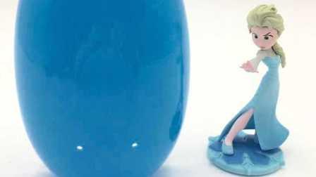 艾莎公主超大冰雪奇缘奇趣蛋,冰雪奇缘主题拼图玩具