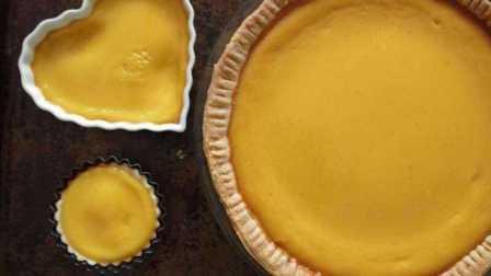 美国经典南瓜派 Pumpkin Pie