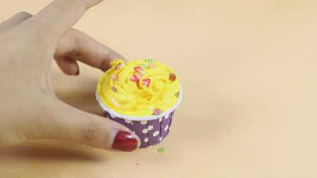 兔小卡星球 2016 DIY手工制作黄色奶油蛋糕 DIY制作黄色奶油蛋糕
