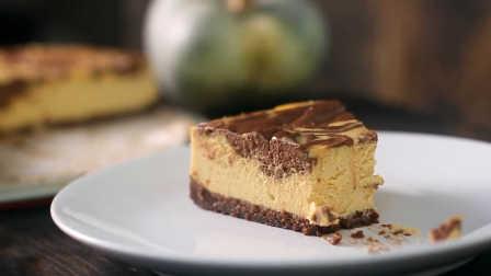 巧克力南瓜芝士蛋糕的做法