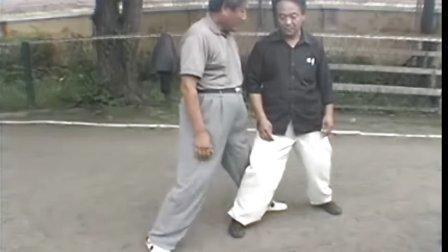 赵家清珍藏2000年8月陈伯祥宗师莅临黑龙江省绥化市对弟子们言传身教陈氏小架拳过度架功夫。