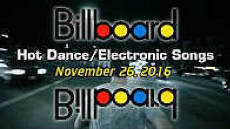 [CeoDj小强独家首发]美国Billboard《公告牌》官方排行榜 - Dance-Electronic[TOP 50](11-26-16)