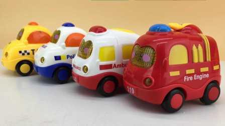 汽车总动员玩具视频 2016 小猪佩奇教大家认识声光小汽车玩具 25 认识声光小汽车玩具