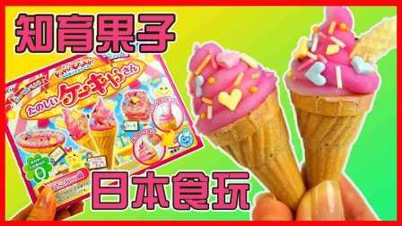 开心时刻与玩具介绍 2016 日本食玩知育果子冰淇淋 可以吃的玩具 知育果子冰淇淋食玩