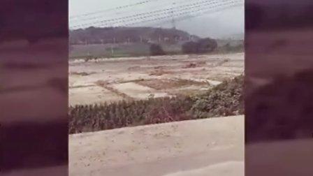 2016年8月河北省石家庄市井陉县特大洪水记录片