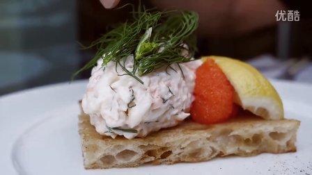 【屌丝吃大街】极品肉桂面包和虾仁沙拉-瑞典第3日