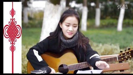 好听!苏苏《黄昏》朱丽叶指弹吉他弹唱视频