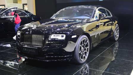 夏东评车 2016广州国际车展 劳斯莱斯 Black badge