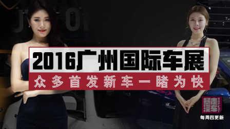 2016广州车展可圈可点 车神车模终同框 48
