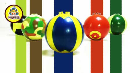 兜糖缤纷王国 2016 面包超人精灵球 面包超人精灵球