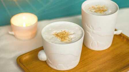 白桃乌龙奶泡茶丨自制声声乌龙~温热vs少冰【绵羊料理】