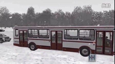 【原创】公交车试驾模拟 三维导师City Car Driving1.5.2罗技g29