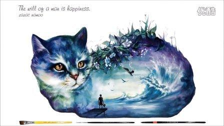 【zazac namoo】【水彩】喵喵喵喵喵 CAT DRAWING