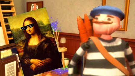 【屌德斯解说】 画家模拟器 灵魂画师教你如何画出世界名画